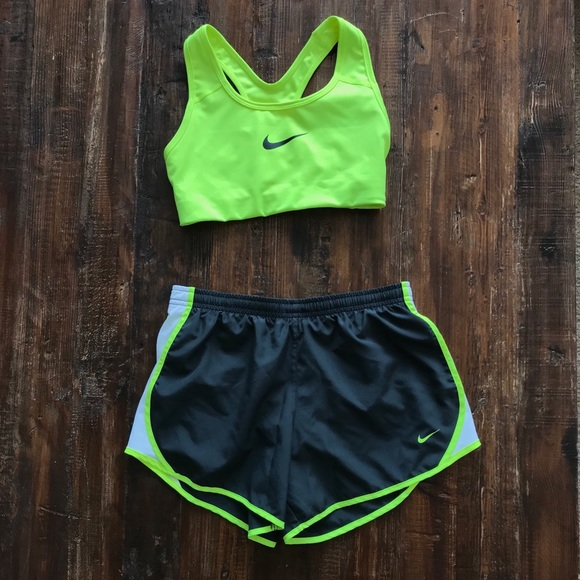 Nike Shorts Sports Bra And Outfit Poshmark